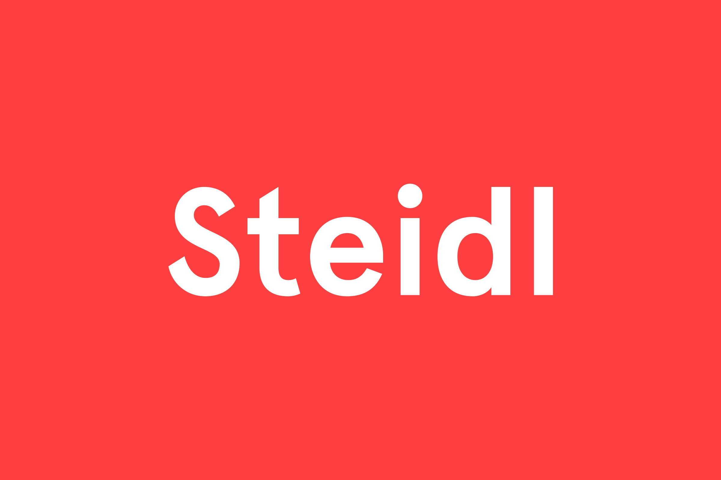 Steidl Publishers Logo — Art Direction / Corporate Design / Editorial Design